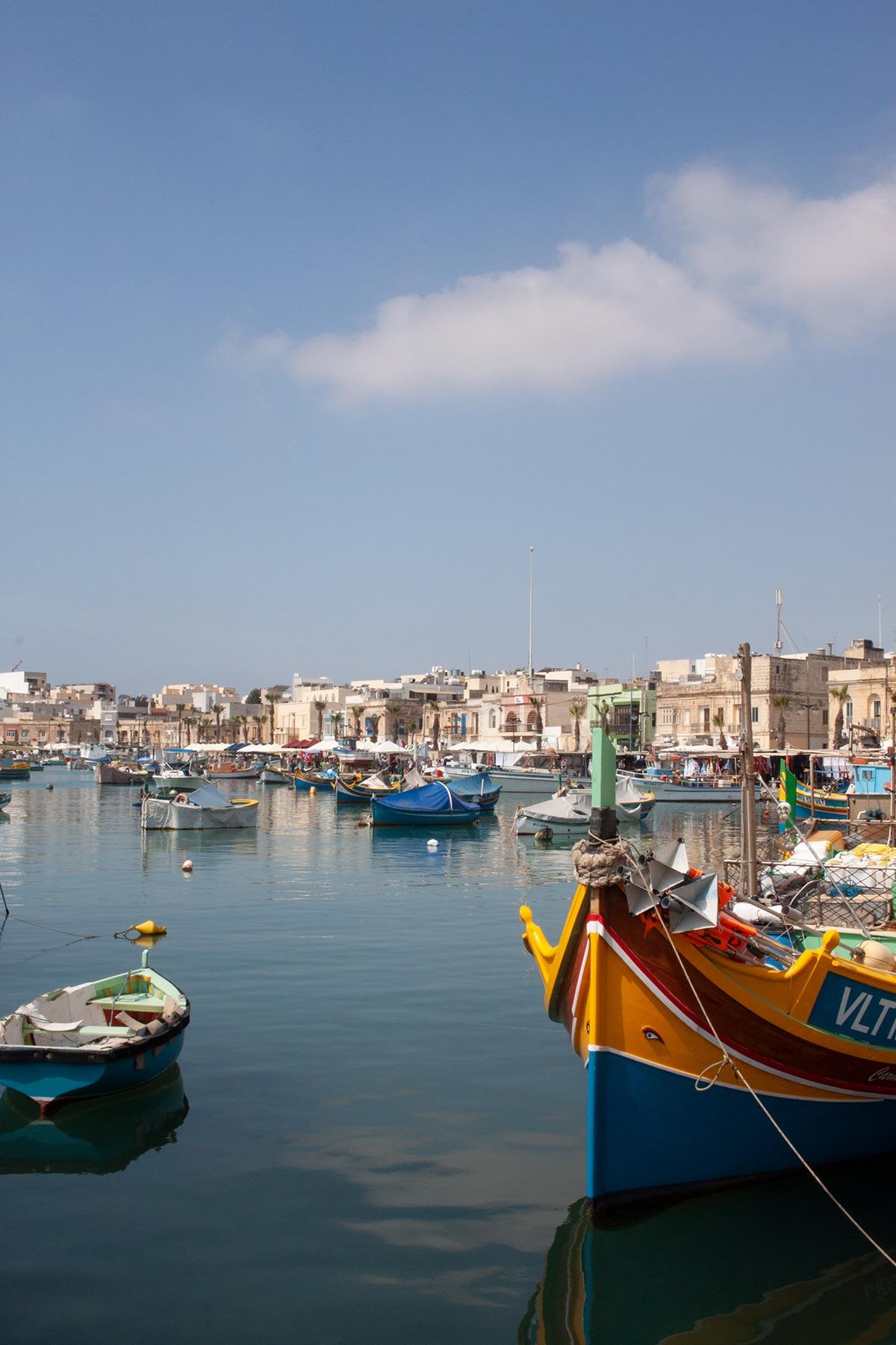 Malta Guide Marsaxlokk