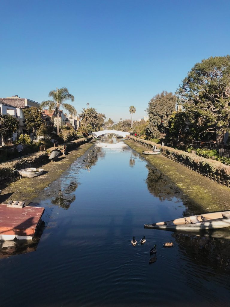 Los Angeles Venice Canals Kalifornien
