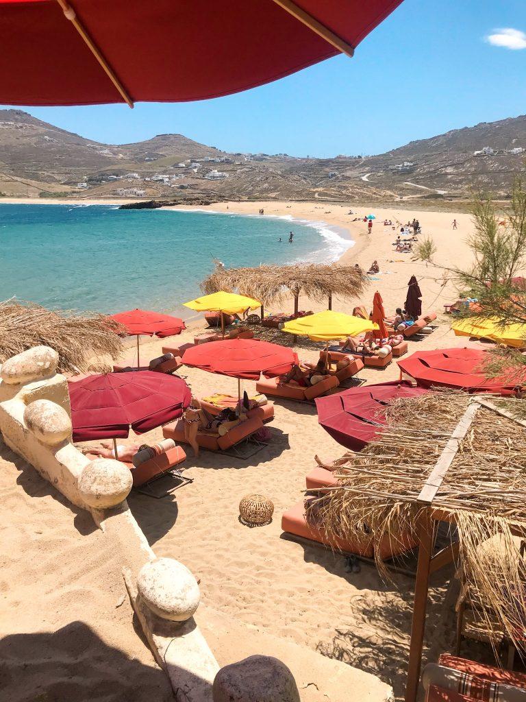 Mykonos Ftelia Beach