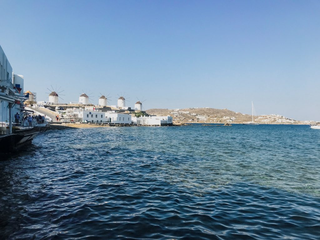 Mykonos Windmills Little Venice