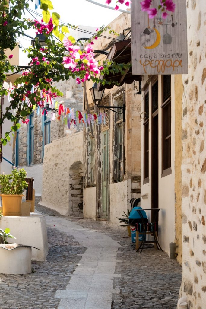 Syros Urlaub - Gassen Ano Syros