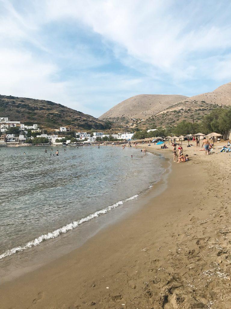 Syros Urlaub - Kini