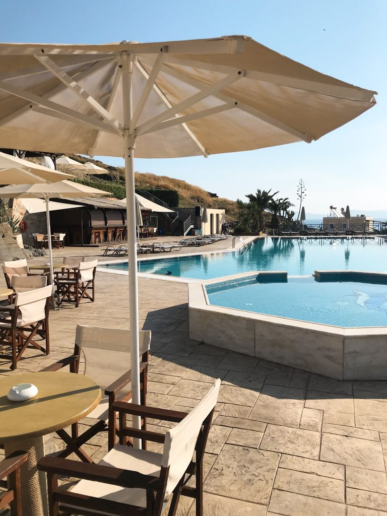 Syros Urlaub -  Sunrise Beach Pool